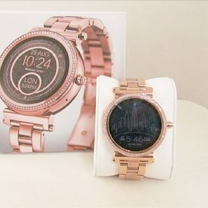 🎀Michael Kors rose gold smartwatch